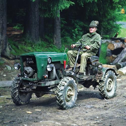 Хотите своими руками сделать мини-трактор? Подробности здесь