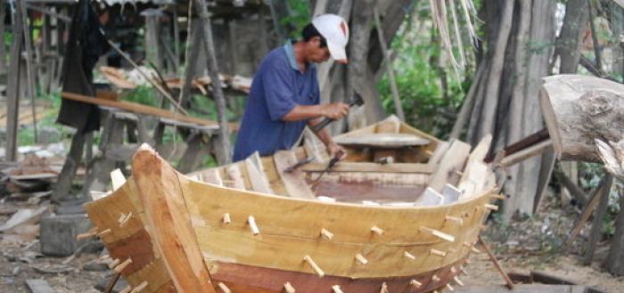 самоделная лодка