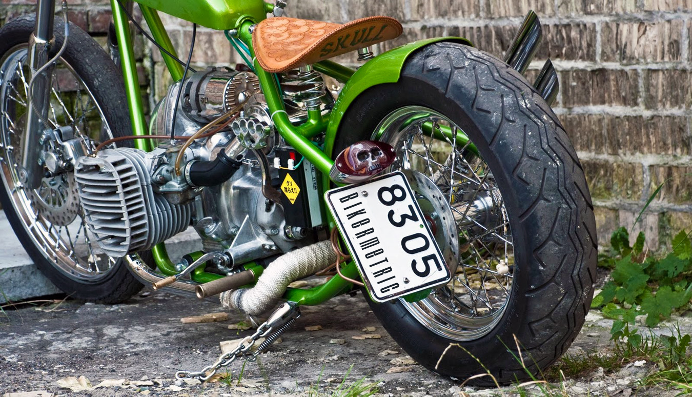 Трицикл своими руками из мотоцикла урал 168