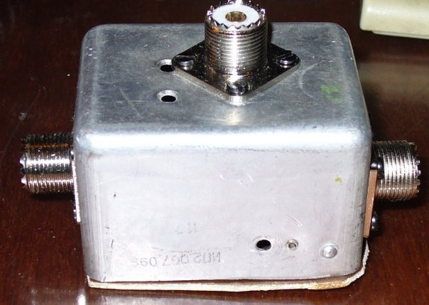 Плата осциллографа в защитном корпусе