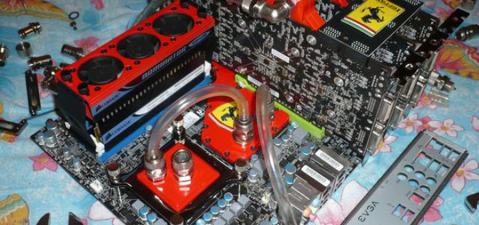 Система водяного охлаждения для ПК