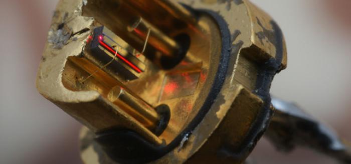 самодельный мощный лазер