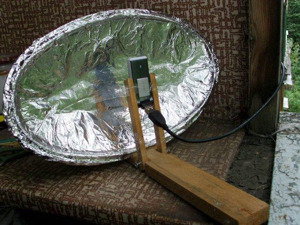 Как сделать чтоб ловил интернет на даче