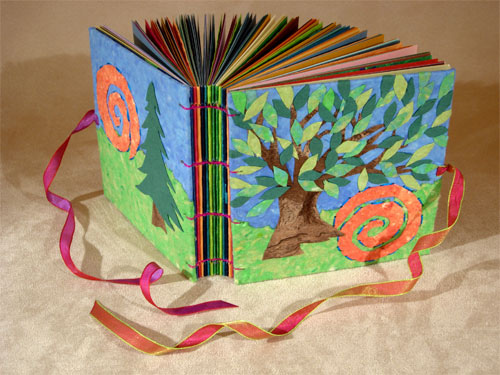 Книжка малышка из картона своими руками