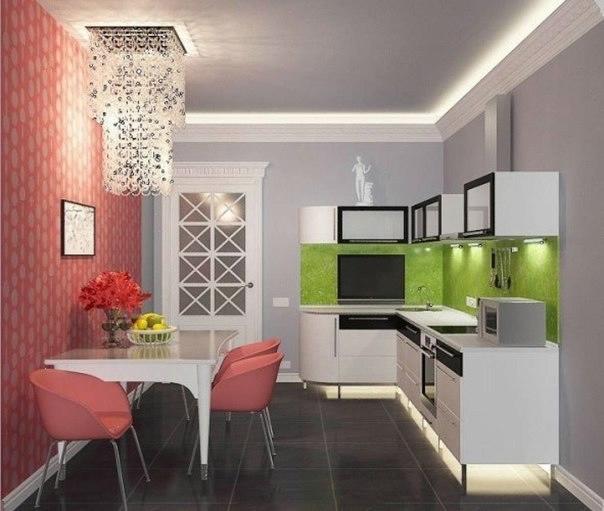 Кухня интерьер дизайн фото