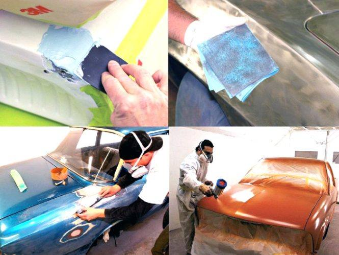 Подготовка и покраска автомобиля своими руками