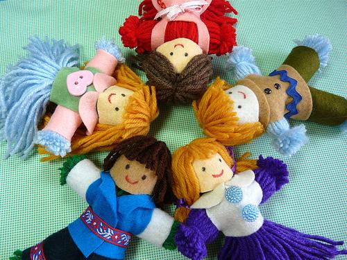 Куклы для ребенка своими руками