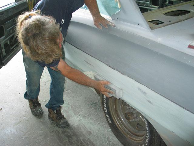 Грунтовка авто своими руками в гараже