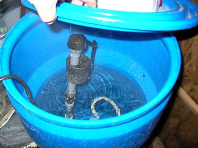 Водонагреватель из пластиковой емкости своими руками