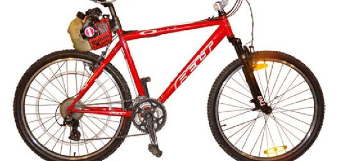 Как из велосипеда сделать мопед