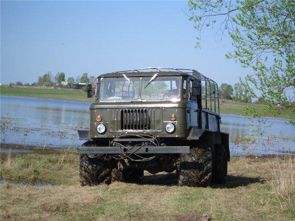 Самодельный внедорожник на базе ГАЗ – 66