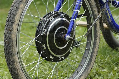 Велосипед с электроприводом своими руками