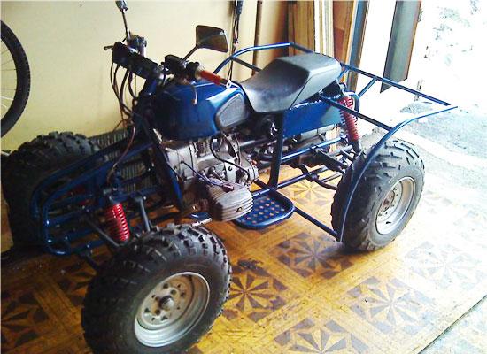 Квадроцикл из мотоцикла 116