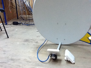 Как сделать интернет от спутниковой тарелки - toviusru
