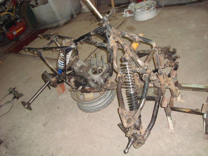 как сделать квадроцикл из мотоцикла иж