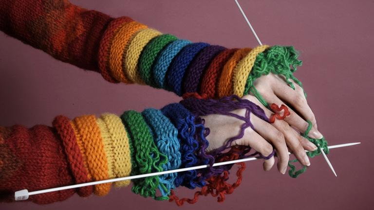 Маркеры для вязания в виде клубка