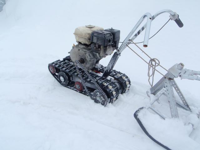 Гусеница для снегохода из покрышки своими руками