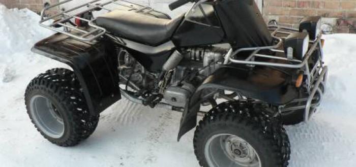 как из мотоцикла сделать квадроцикл