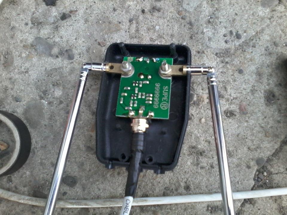 Как сделать антенну для радио в машину