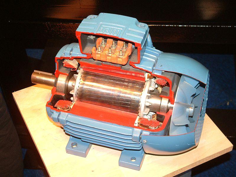Генератор из двигателя переменного тока