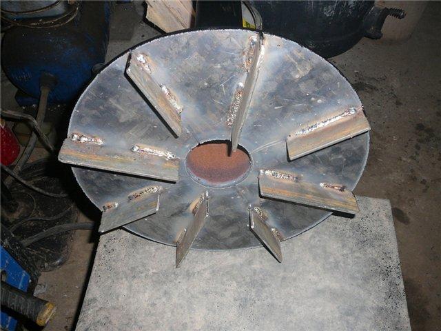 пиролизная печь из газового баллона
