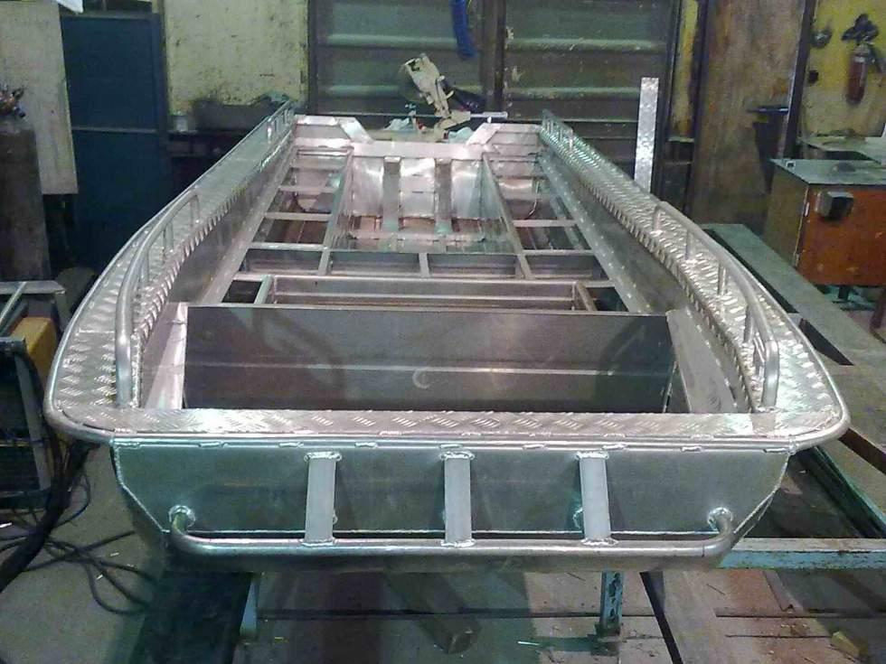 Самодельные лодки алюминия