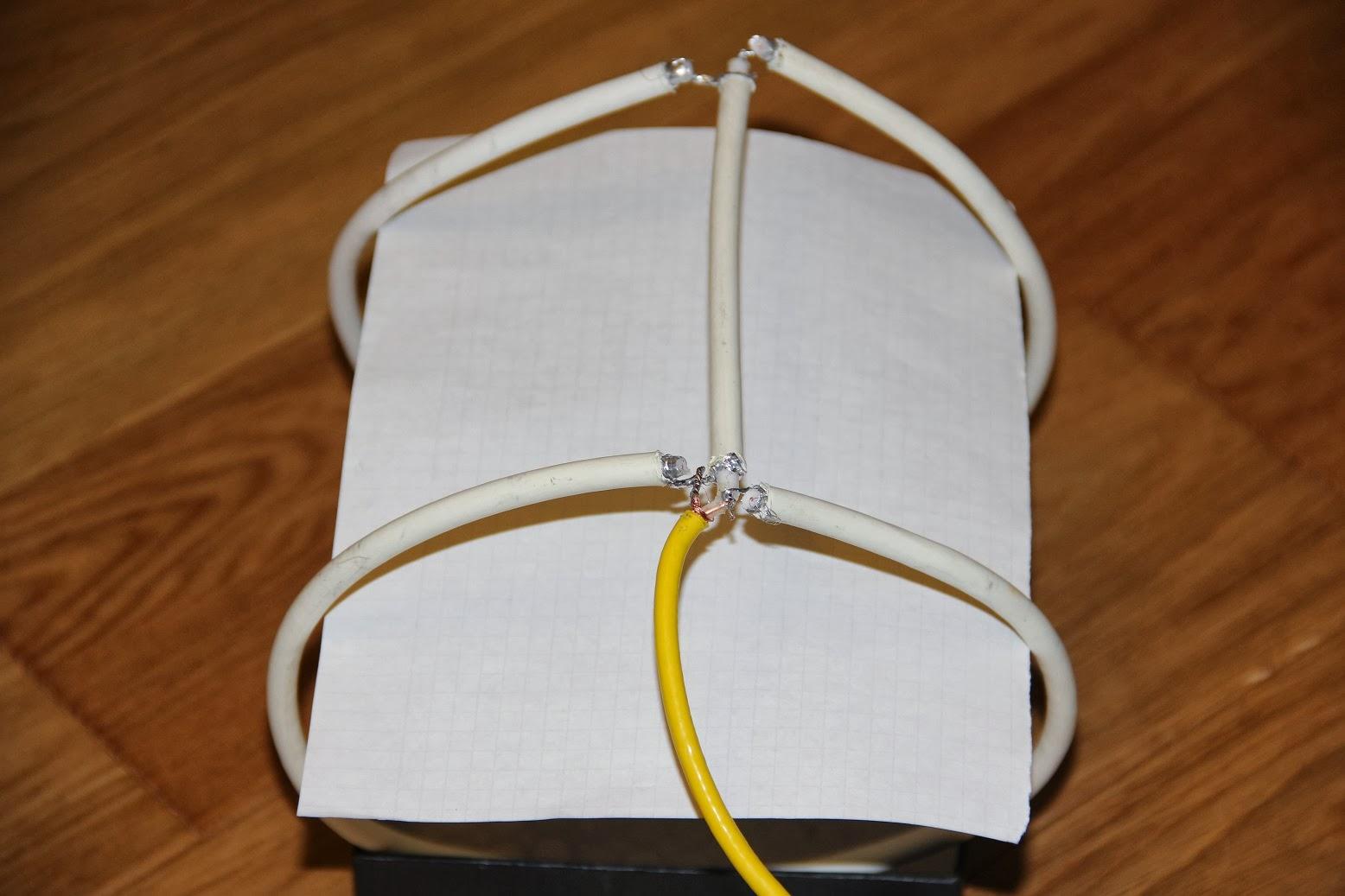 Антенна дмв из коаксиального кабеля