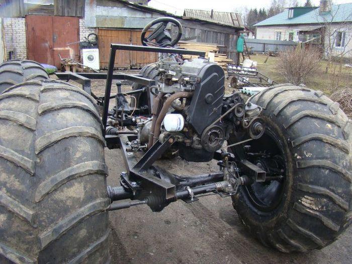 самодельные вездеходы из мотоцикла урал