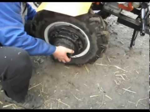 утяжелители колес мотоблока своими руками