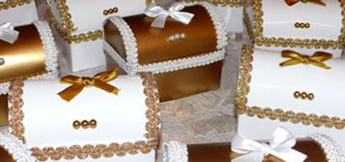 Как изготовить свадебные бонбоньерки своими руками