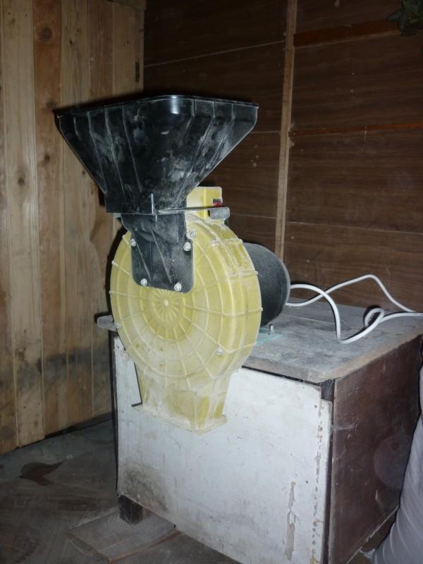 Зернодробилка своими руками из болгарки