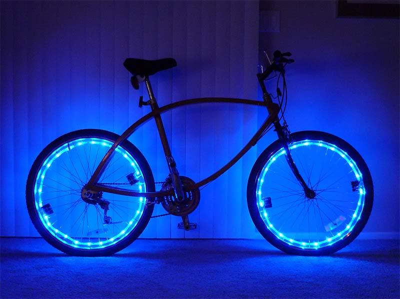 Как сделать подсветку на велосипед своими руками
