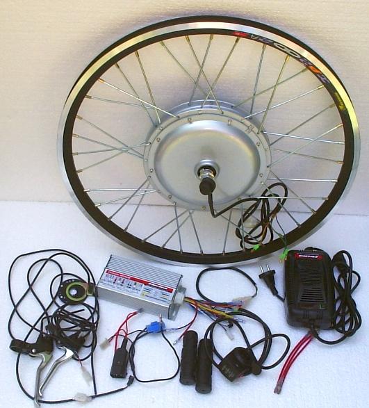 Комплект мотор колесо своими руками 43