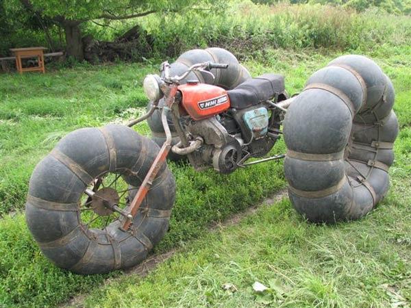 Как сделать вездеход из мотоцикла ИЖ