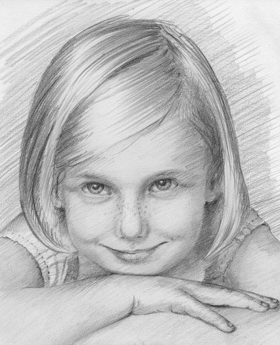 рисовать портреты