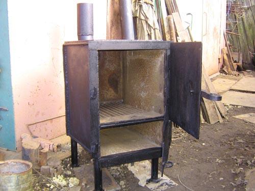 Печка буржуйка длительного горения своими руками