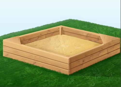 Как сделать песочницу своими руками