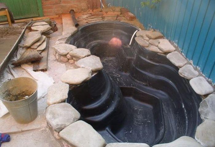 Как соорудить искусственный водоем своими руками