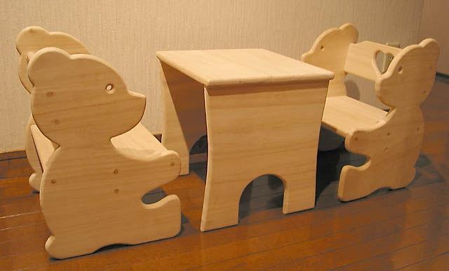 Детские стульчики из фанеры