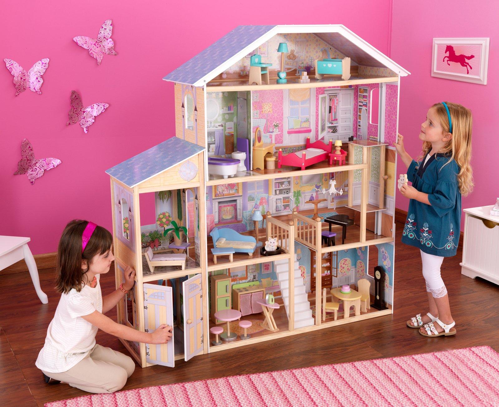 Фото домов для кукол своими руками