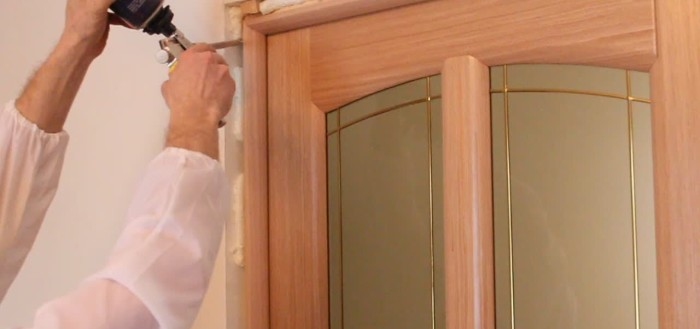 межкомнатные двери своими руками