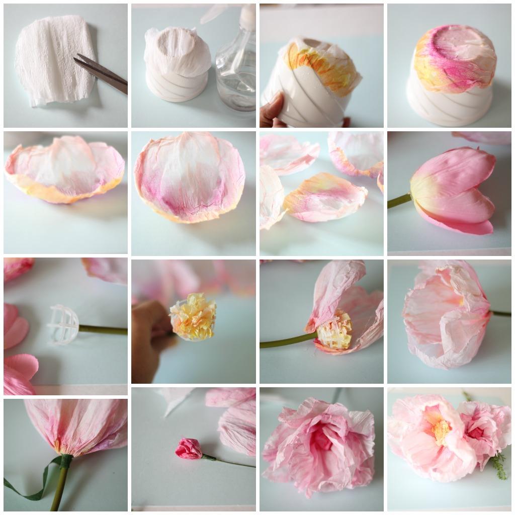Тюльпаны своими руками