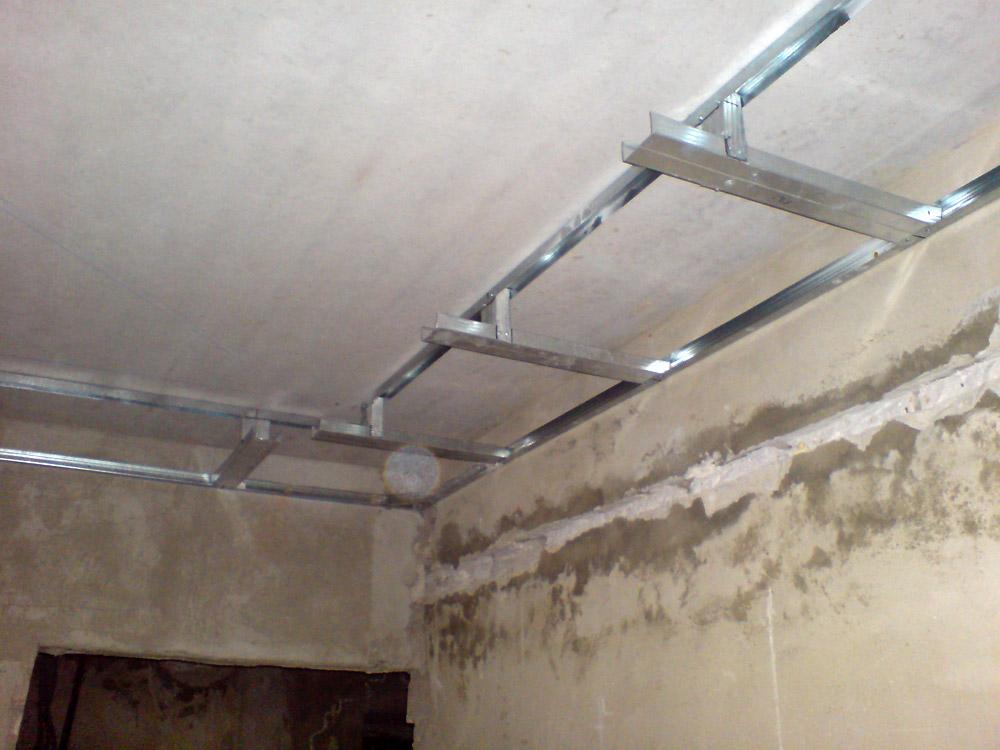 Как сделать потолок из гипсокартона своими руками на кухне