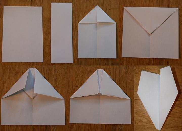 Как сделать бумажный самолет из бумаги своими руками