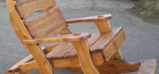 Кресла качалки и как их делать своими руками