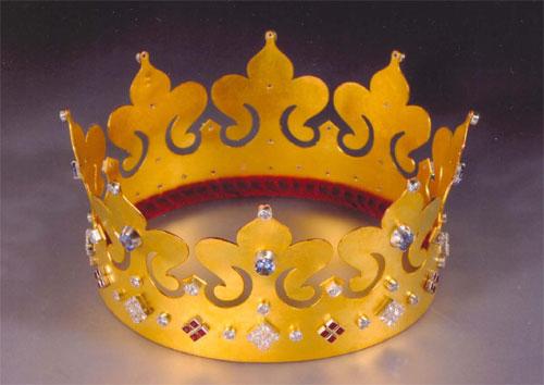 Как сделать корону для короля своими руками из бумаги