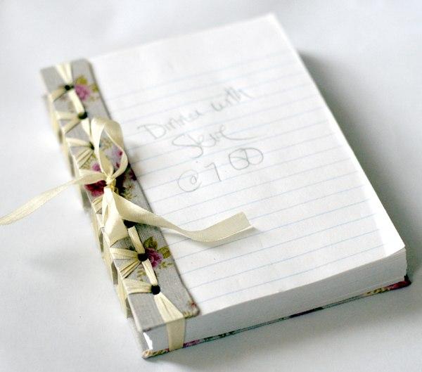 Как сделать красивый блокнот своими руками из бумаги