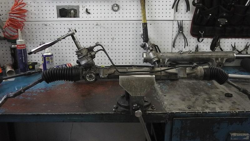ремонт рулевой рейки своими руками рено 19