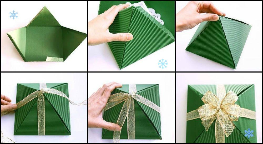 Упаковка подарков своими руками инструкция 12