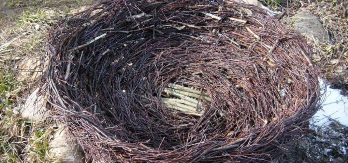 Гнездо своими руками